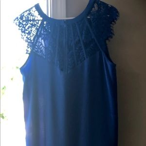 Brixon Ivy Tops - Lacy Blue Top Brand New